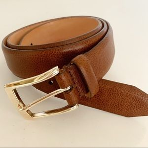 Martin Dingman | Brown Leather Belt